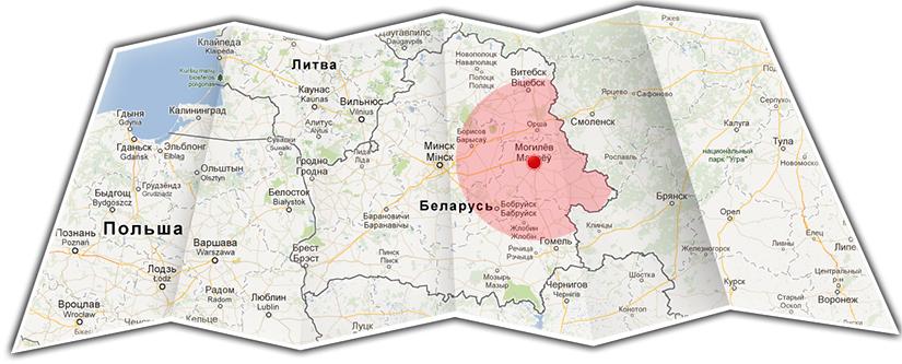 Мобильный офис в Могилёвской, Витебской, Гомельской областях